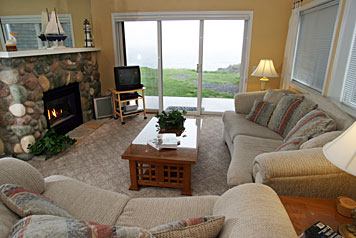 Depoe Bay Living Room